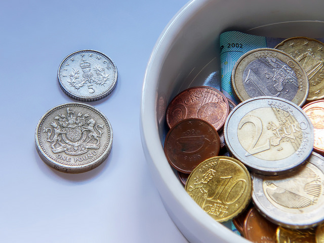pound verses euro