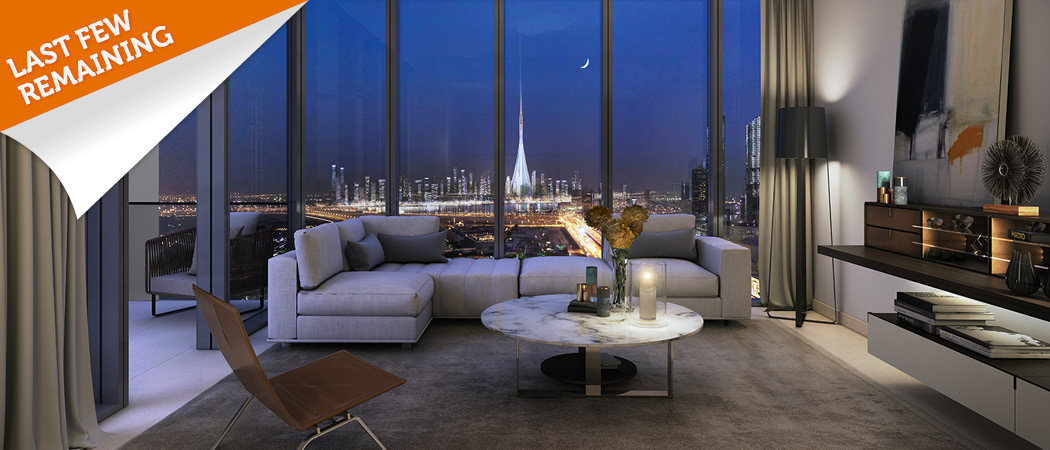 Downtown-views-ll-Dubai-sold-living-room-night