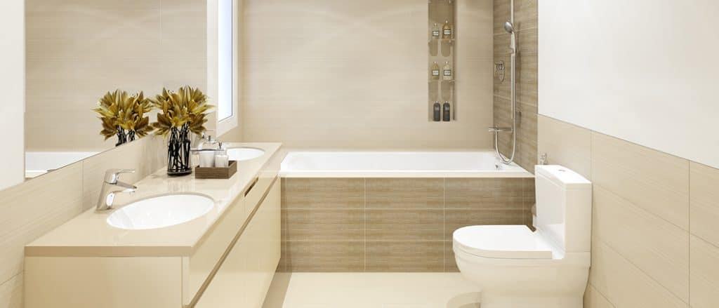 Hayat Boulevard Apartments Dubai bathroom