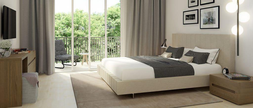 Hayat Boulevard Apartments Dubai bedroom