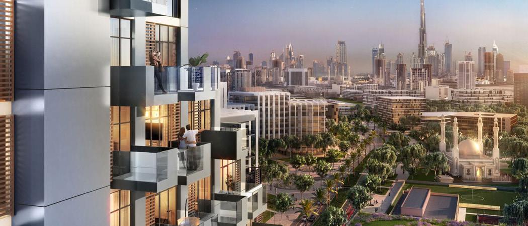 Farhad Residence balcony, Dubai, UAE