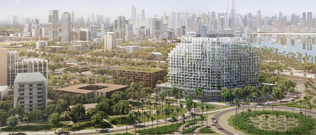 Farhad Residence aerial, Dubai, UAE