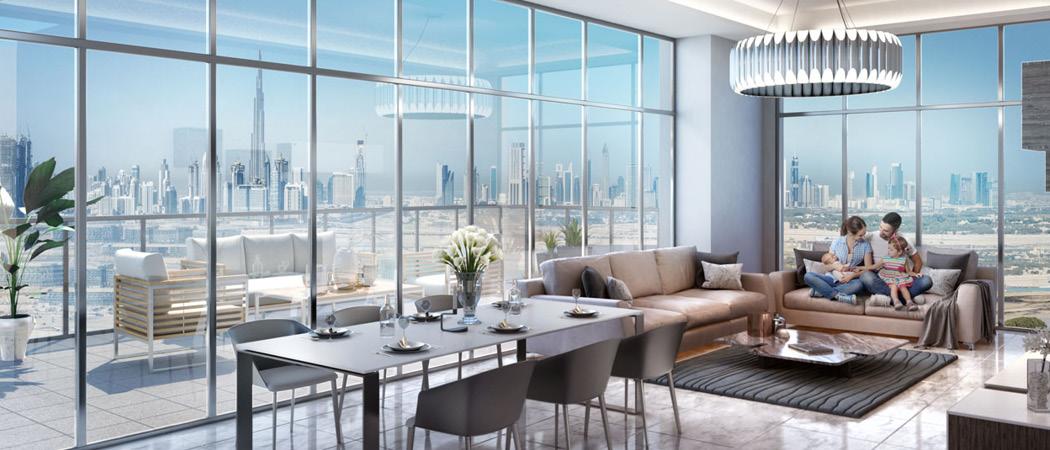 Farhad Residence livingroom, Dubai, UAE
