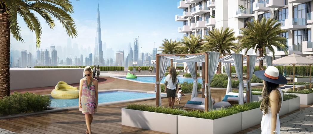 Farhad Residence pool, Dubai, UAE