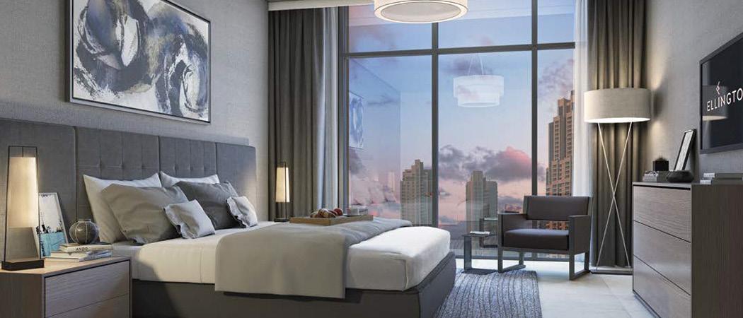 DT1 bedroom, Dubai, UAE