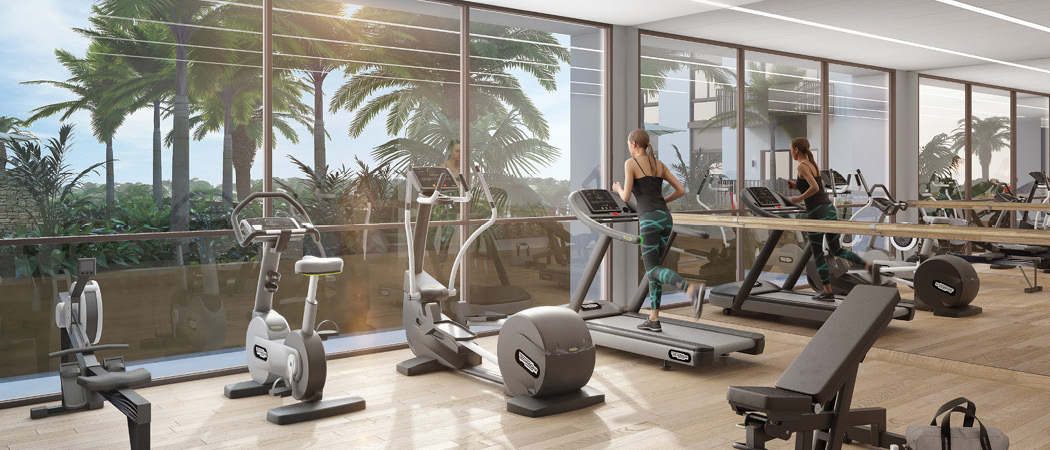Eaton Place gym, Dubai, UAE