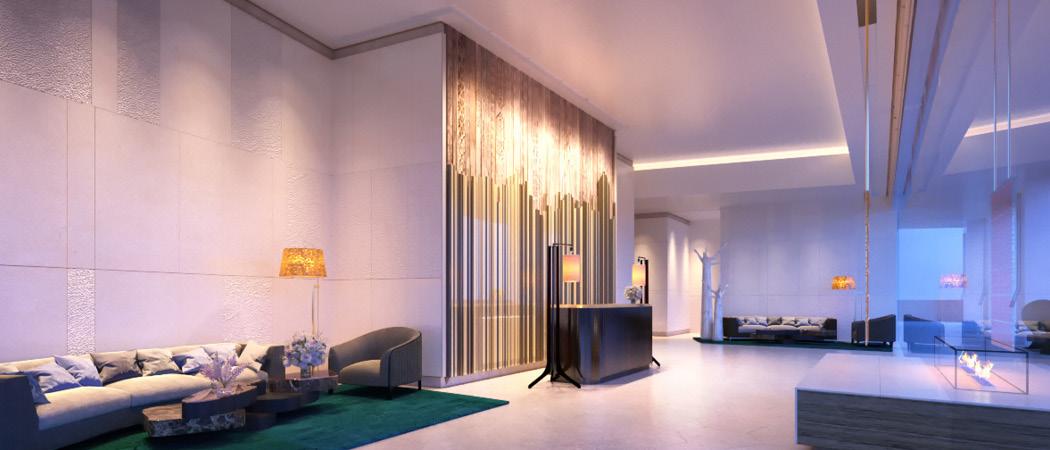 Langham Place lobby, Dubai, UAE
