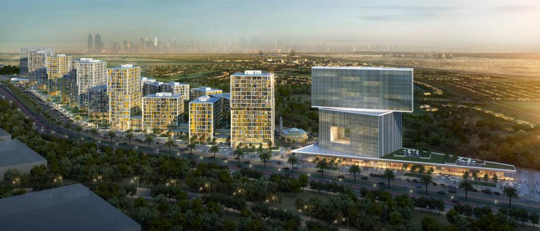 Midtown Afnan external, Dubai, UAE