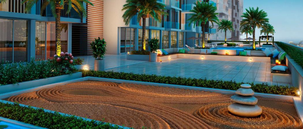 Azizi Riviera garden, Dubai, UK