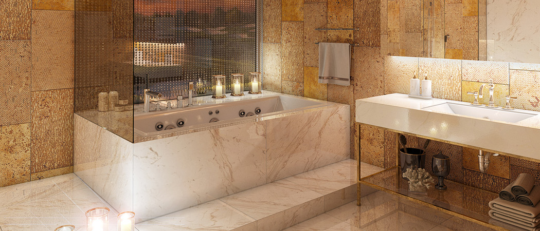 Jumeirah Luxury bathroom, Dubai, UAE