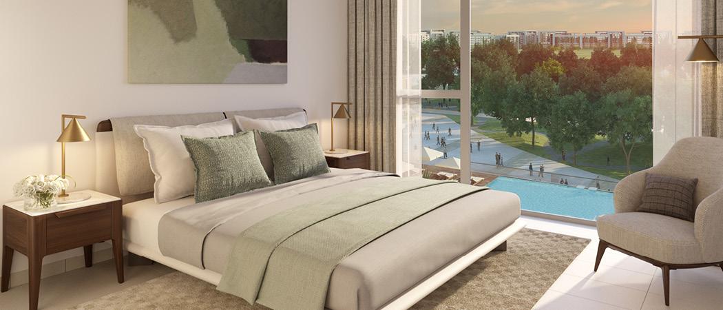 Park Ridge bedroom, Dubai Hills Estate, Dubai, UAE