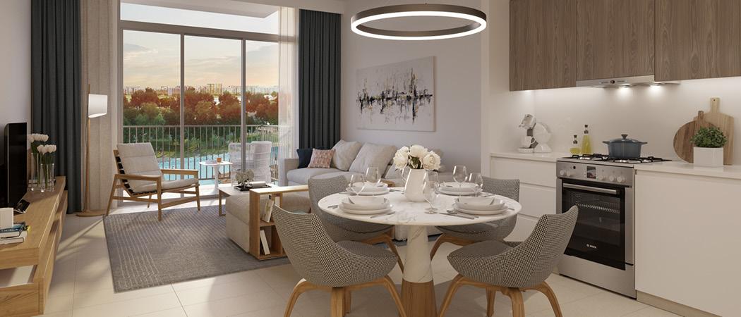Park Ridge kitchen, Dubai Hills Estate, Dubai, UAE