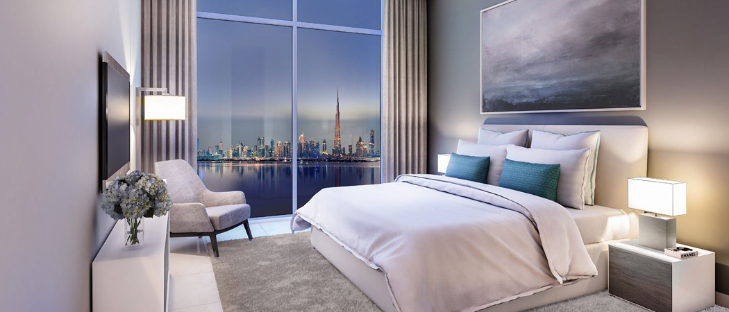 The Cove bedroom, Dubai Creek Harbour, Dubai, UAE
