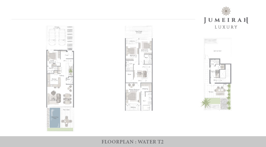 Jumeirah Luxury floorplan 10, Dubai, UAE