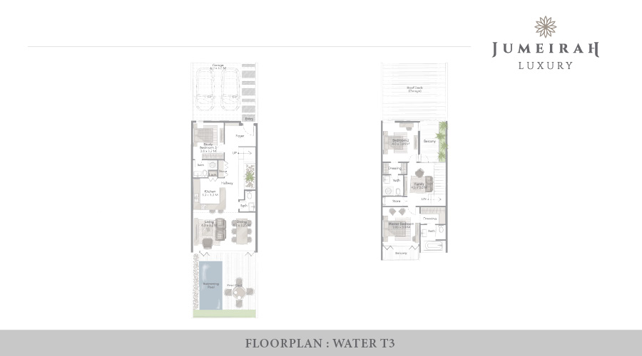 Jumeirah Luxury floorplan 11, Dubai, UAE
