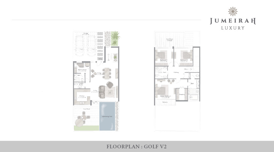 Jumeirah Luxury floorplan 2, Dubai, UAE