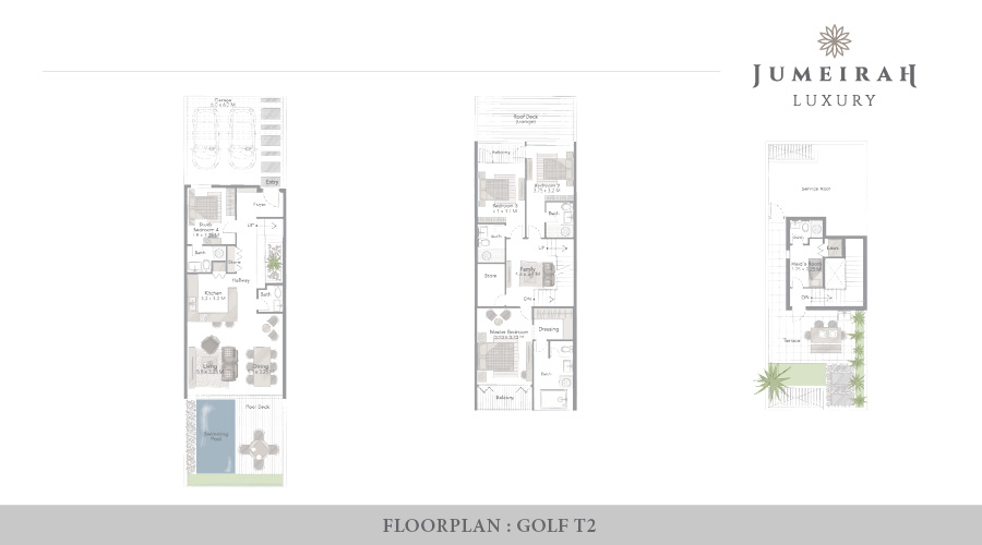 Jumeirah Luxury floorplan 4, Dubai, UAE