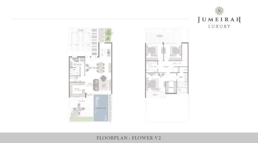 Jumeirah Luxury floorplan 6, Dubai, UAE