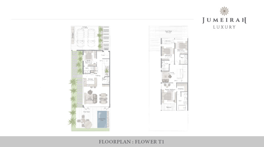 Jumeirah Luxury floorplan 7, Dubai, UAE