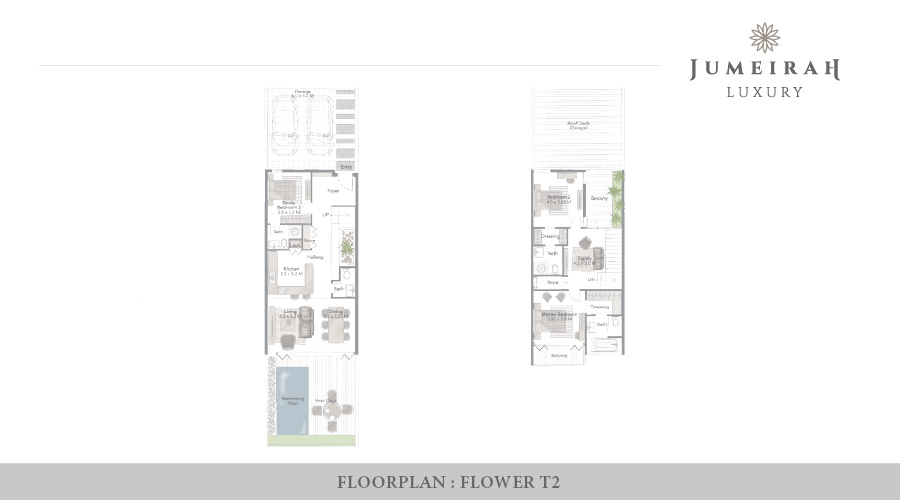Jumeirah Luxury floorplan 8, Dubai, UAE