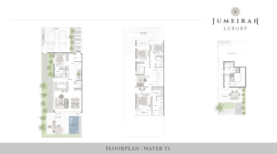 Jumeirah Luxury floorplan 9, Dubai, UAE
